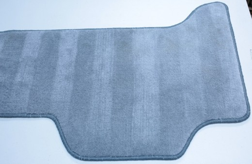 Land Cruiser rear floor mat gray