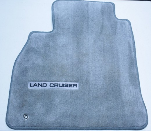 2004 Land Cruiser Driver Floor Mat (Gray)