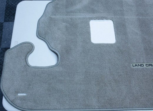 2004 Land Cruiser Gray Rear Cargo Mat (3rd Row Seating Compatible)